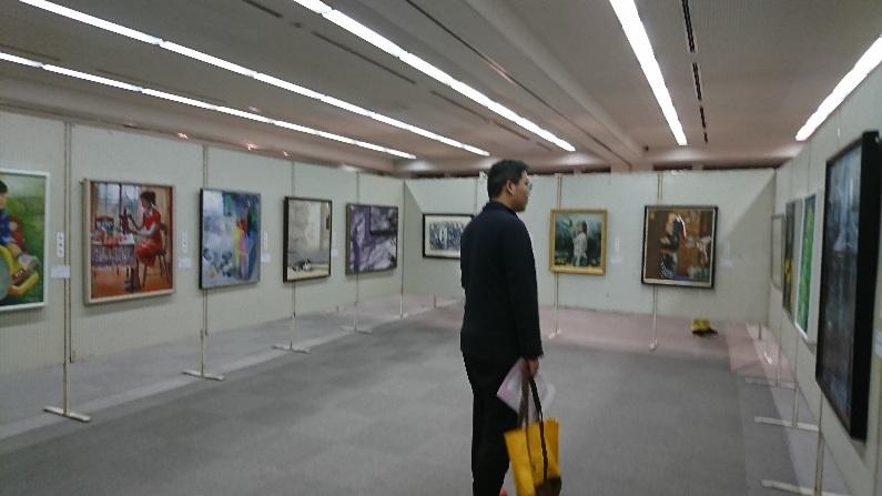 草津市美術館にて鑑賞