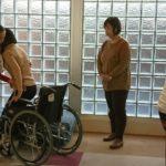 外国人技能実習生の介護講習風景