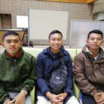 愛荘校に入校したインドネシアの外国人技能実習生たち