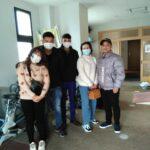 稲枝校に外国人技能実習生をお迎えしました。